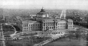 Vintage Photo of The Library of Congress
