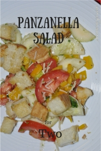 Panzanella Salad for Two