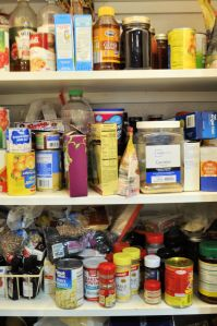 Overloaded pantry
